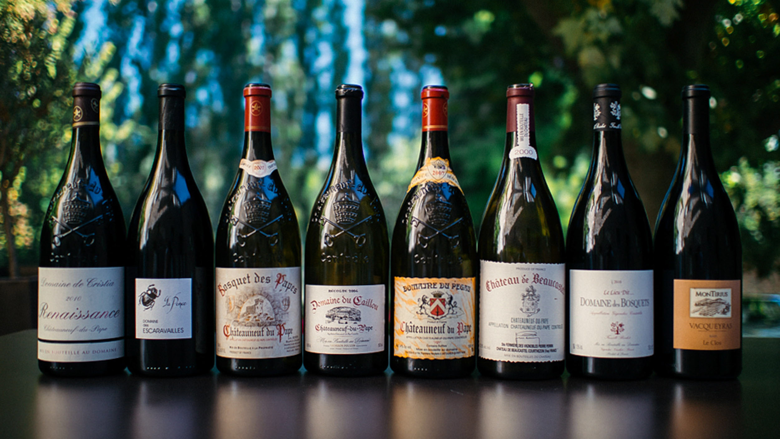 Domaines of the Southern Rhone.   Read More…