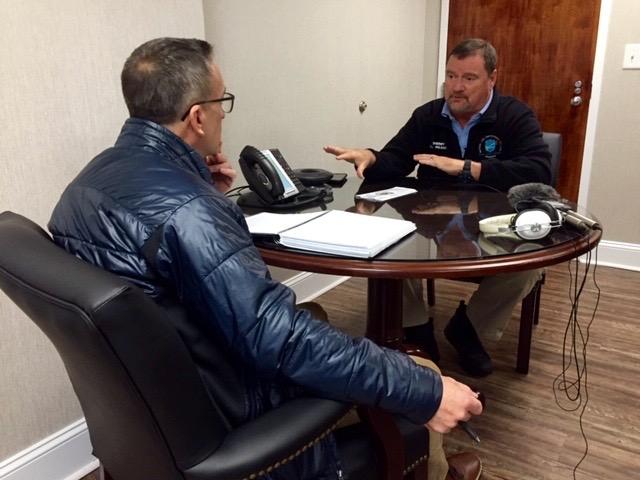 Russ Bowen interviews Robeson County Sheriff Burnis Wilkins