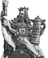The legend, Gambrinus.