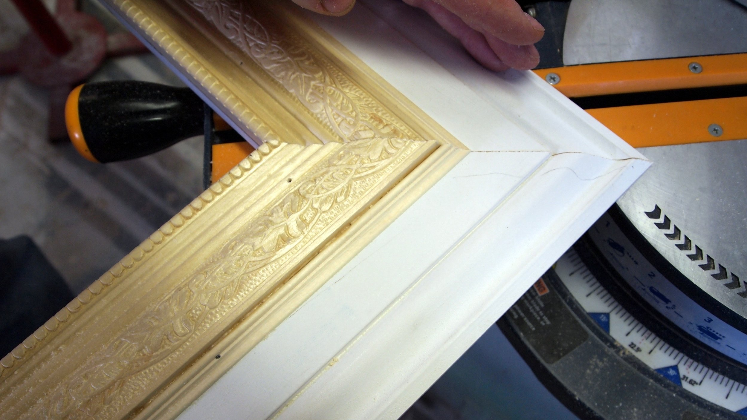 Making-a-giant-picture-frame-using-trim-pieces-Sawdust-and-Embryos.jpg