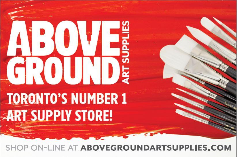 Above Ground Art Supplies   www.abovegroundartsupplies.com   Art Works Art School Students receive 10% off with a student card