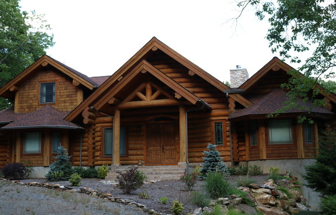 LOG CABINS - When you build with Eagle Nest Mountain Construction, you're getting the best level of customer service available. We want your cabin to be absolutely perfect. You'll receive high-quality craftsmanship and close attention to detail on your job when you choose us.