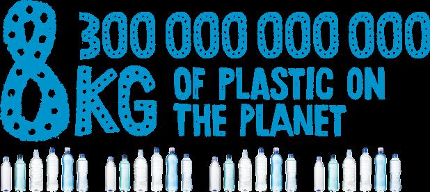 So viel Plastik gibt es laut Experten auf der Erde. Plastik ist ein Wertstoff, das wiederverwertet werden kann