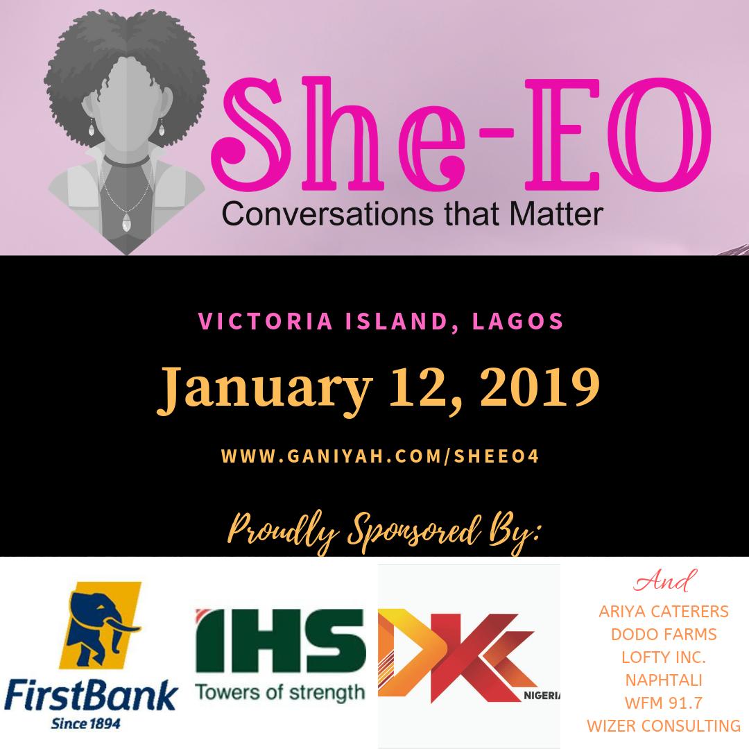 She-EO (4.0) Lagos 2018