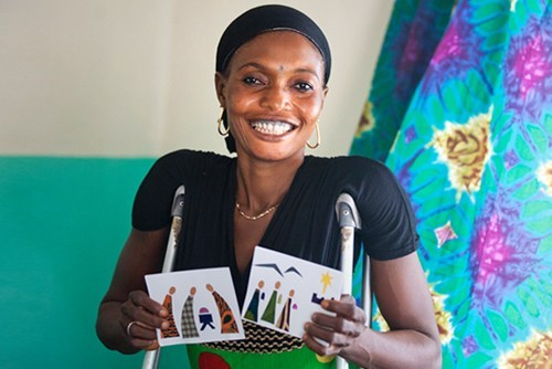 """Aminata C. - """"If they had given me money, it would be gone by now. What they have given me is better than money. It has change my life."""""""