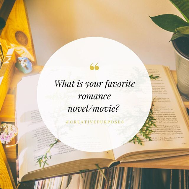 What is your favorite romance novel or movie that makes you feel warm and fuzzy inside? The Wedding Planner is what started it all for me; I instantly became infatuated with being the woman in charge of planning and executing the details of every woman's most memorable day!