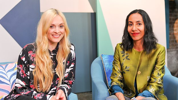 Fearne Cotton and Michelle Ogundehin - Click  Here  for a great interview with them both about the show.  Photo by Tom Scott