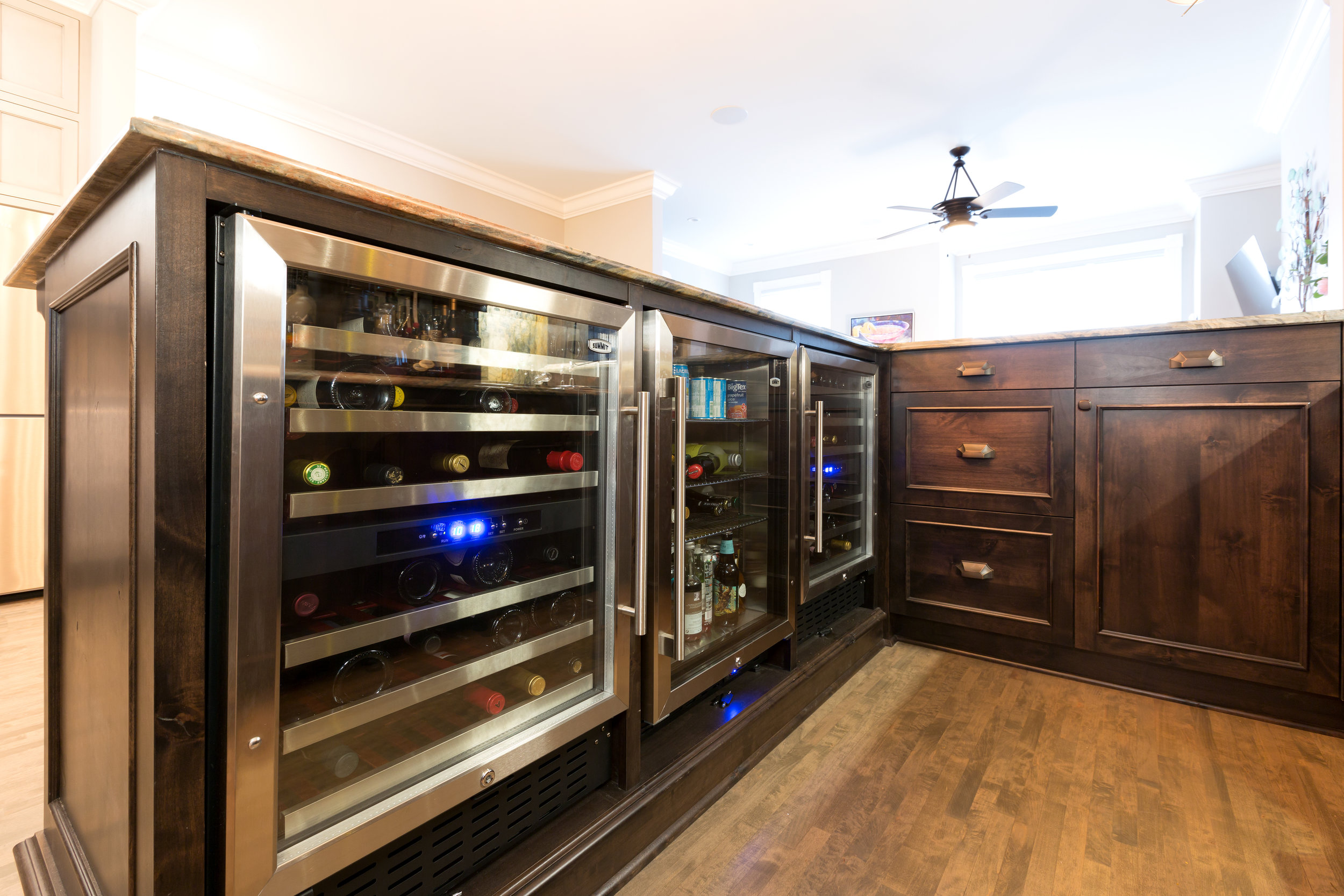 Built in Wine Fridge