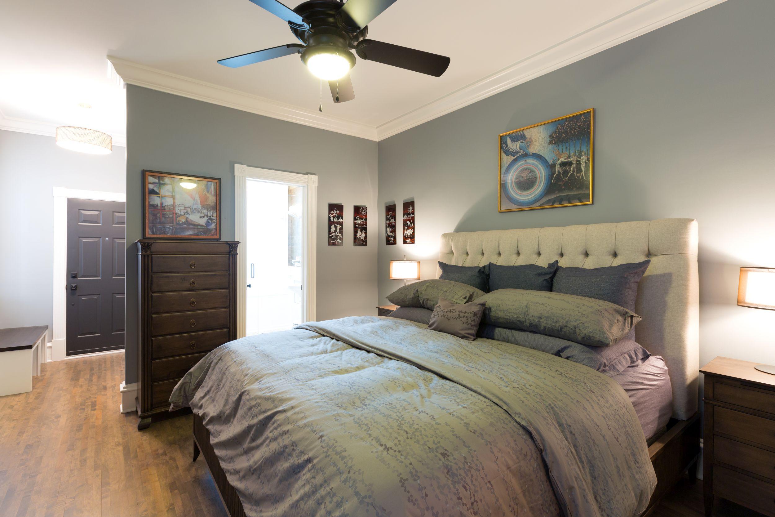 Remodeled Master Bedroom.