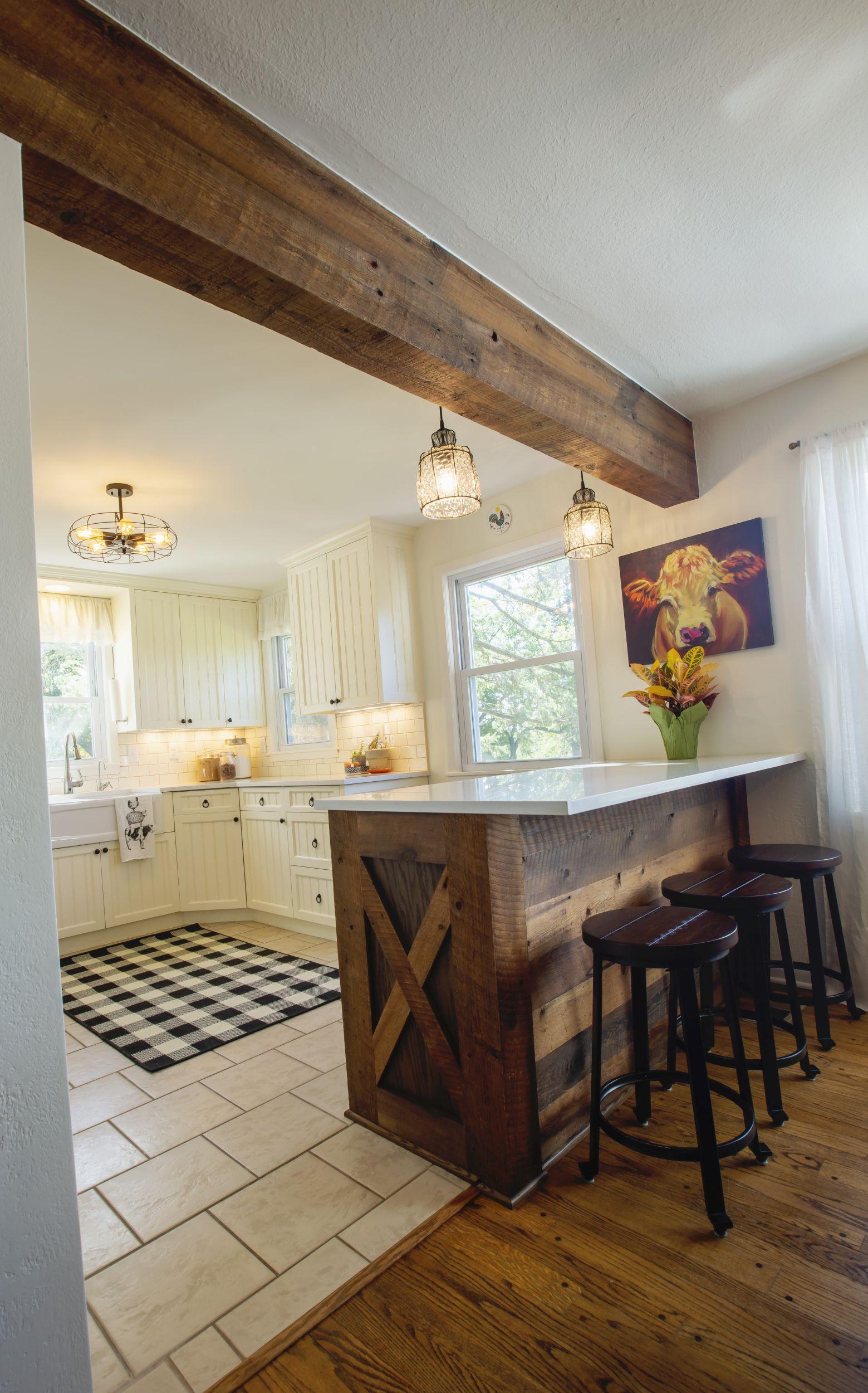 Classic Farmhouse Kitchen Photo