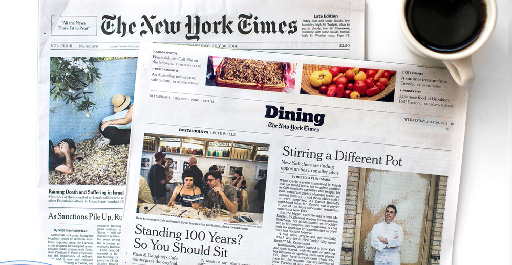 New York Times     July 23rd. 2015