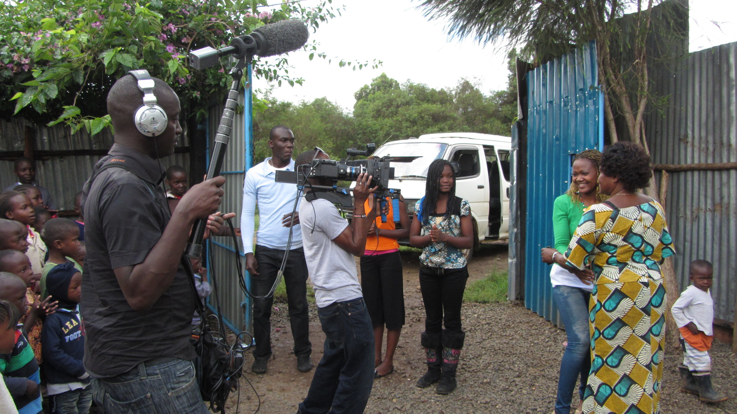 Filming in Nairobi with CouchSurfing