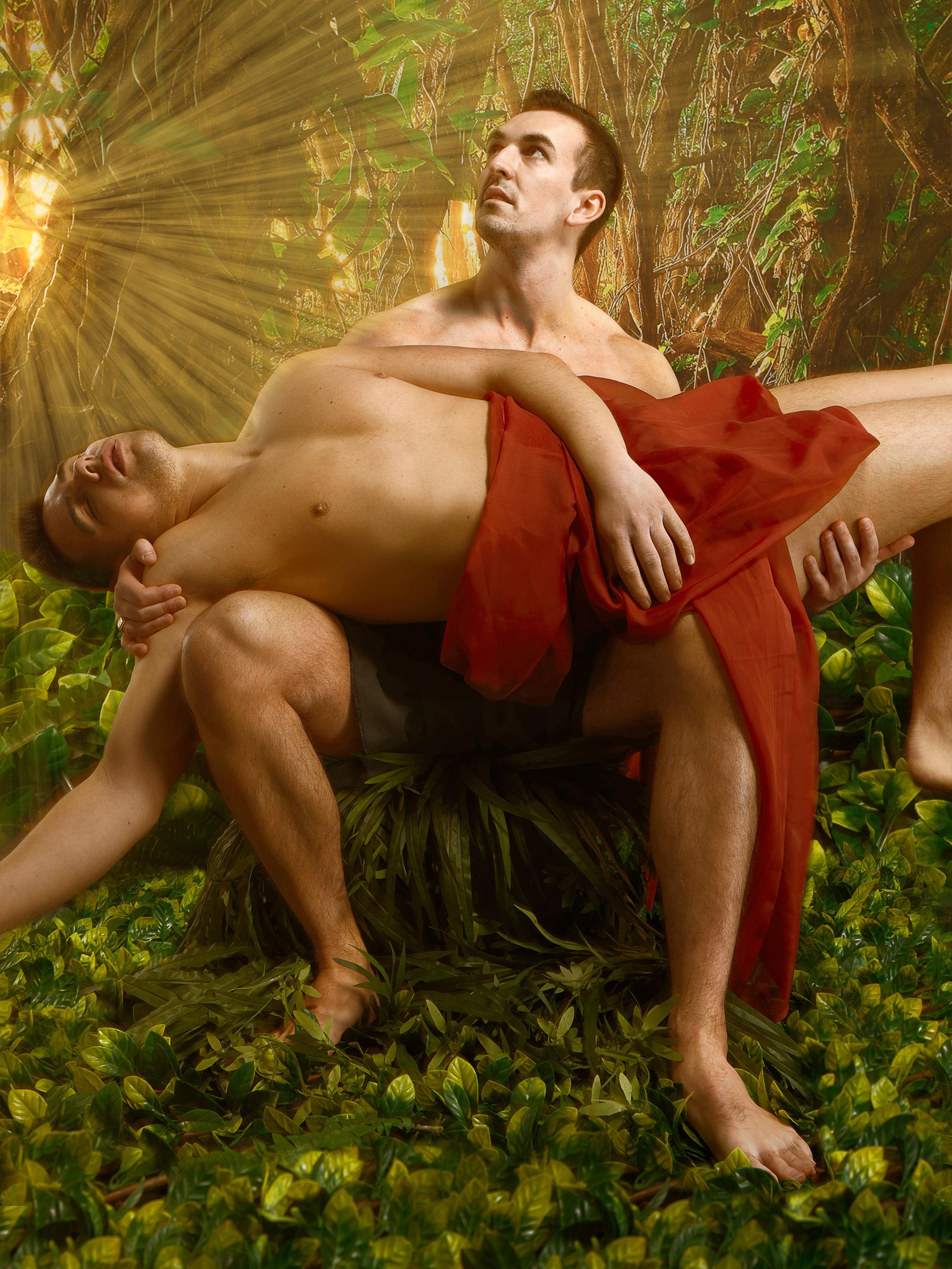 Tarzan & James ©2019 Adrienne Row - Smith / Strast Media