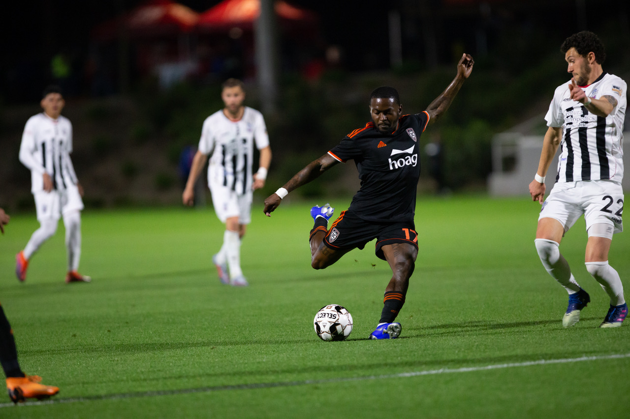Orange County SC's Darwin Jones | Photo courtesy of Orange County SC