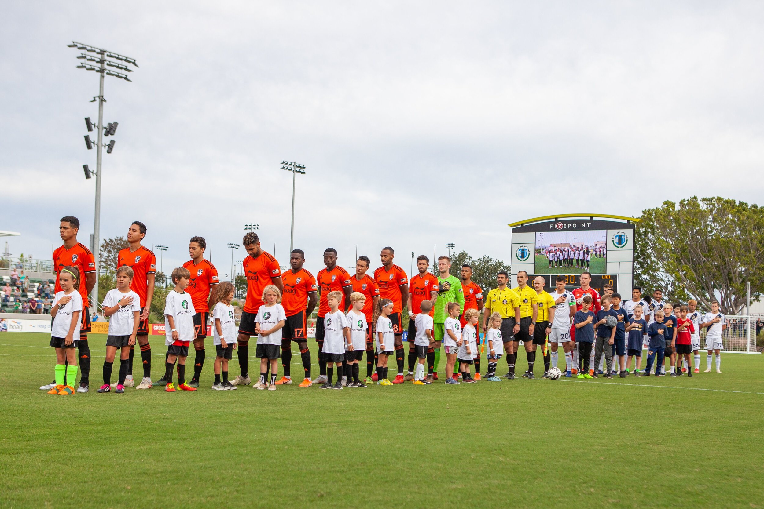 The starting eleven will look very different this week, with three changes guaranteed.  Photo courtesy of Liza Rosales/Orange County SC.