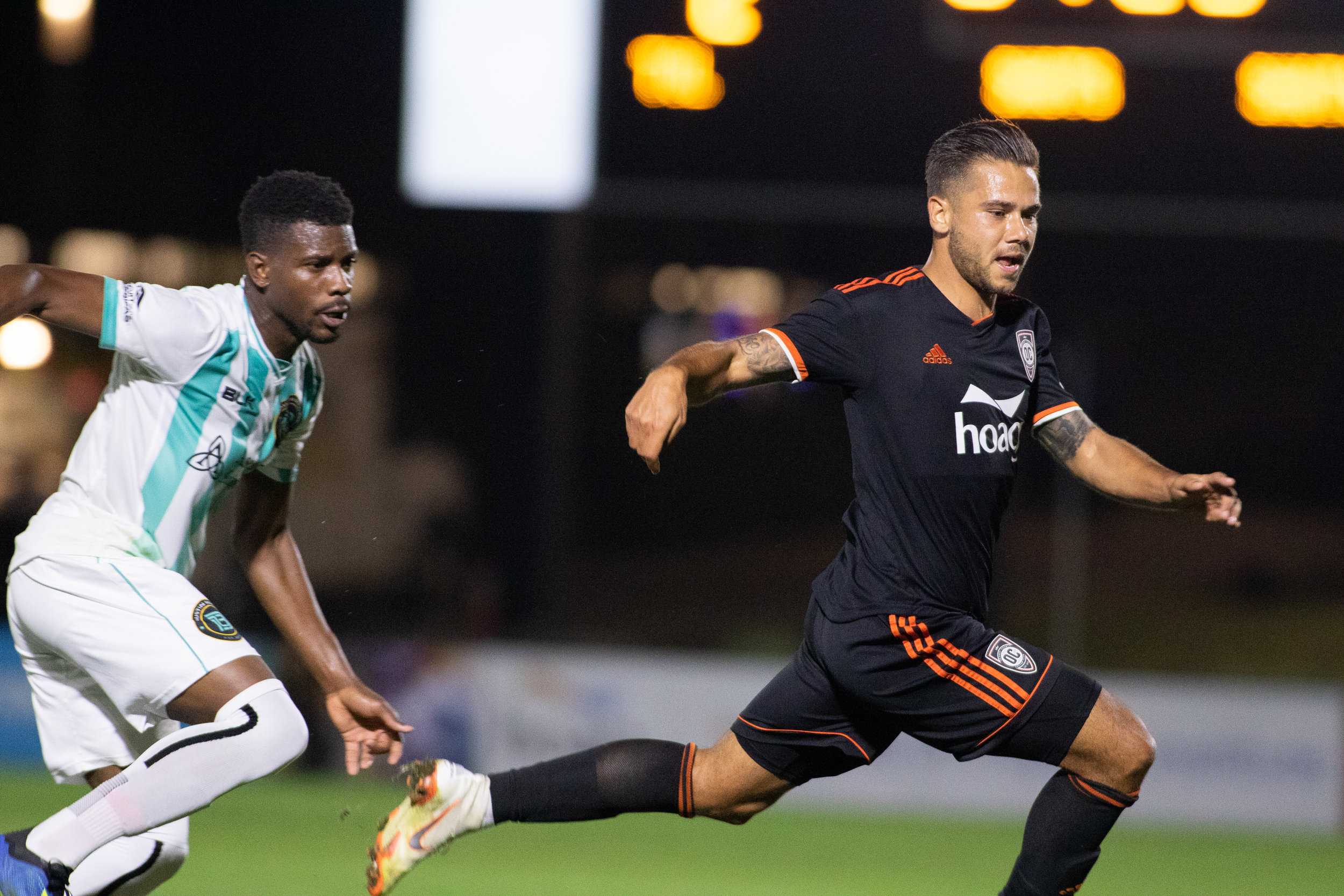 Orange County SC's Harry Forrester. |  Photo courtesy of Orange County SC/Liza Rosales