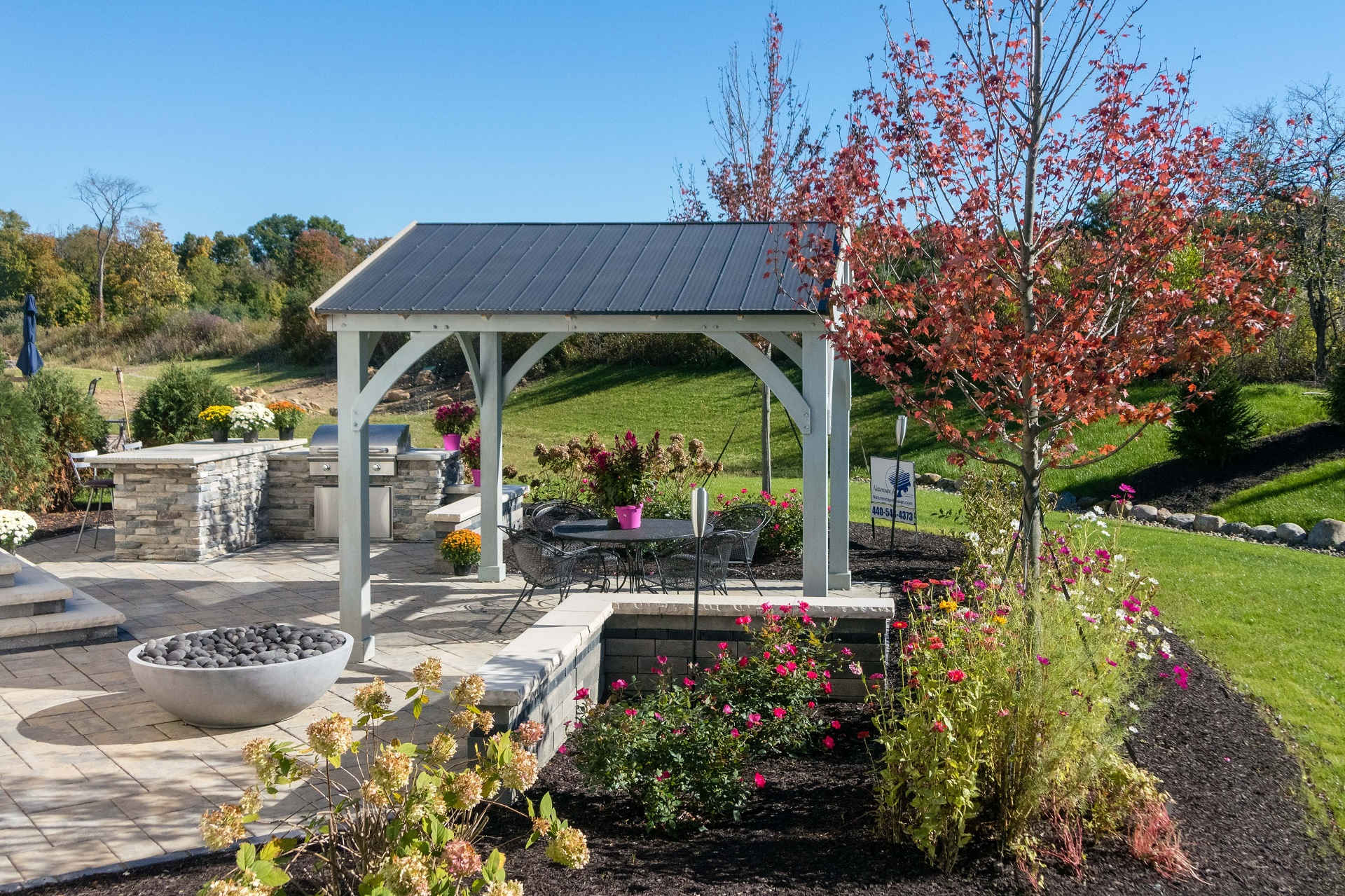 Landscape design in Chagrin Falls OH for top quality outdoor living