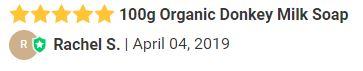 100g Organic Donkey Milk Soap review.JPG