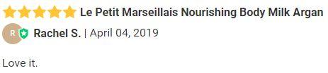 Le Petit Marseillais Nourishing Body Milk Argan review.JPG