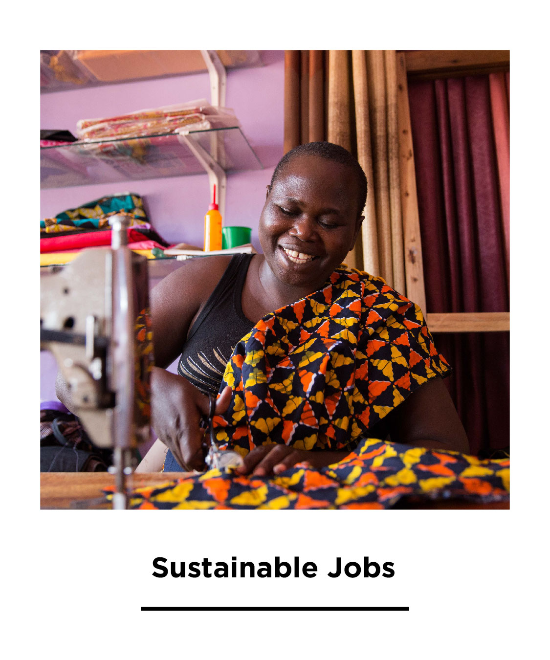 We invest in local businesses so that individuals can pursue their dreams as artists, fashion designers, entrepreneurs, writers, photographers, etc.  We carefully curate and create work opportunities with artisans based on their skills and knowledge in various creative areas.