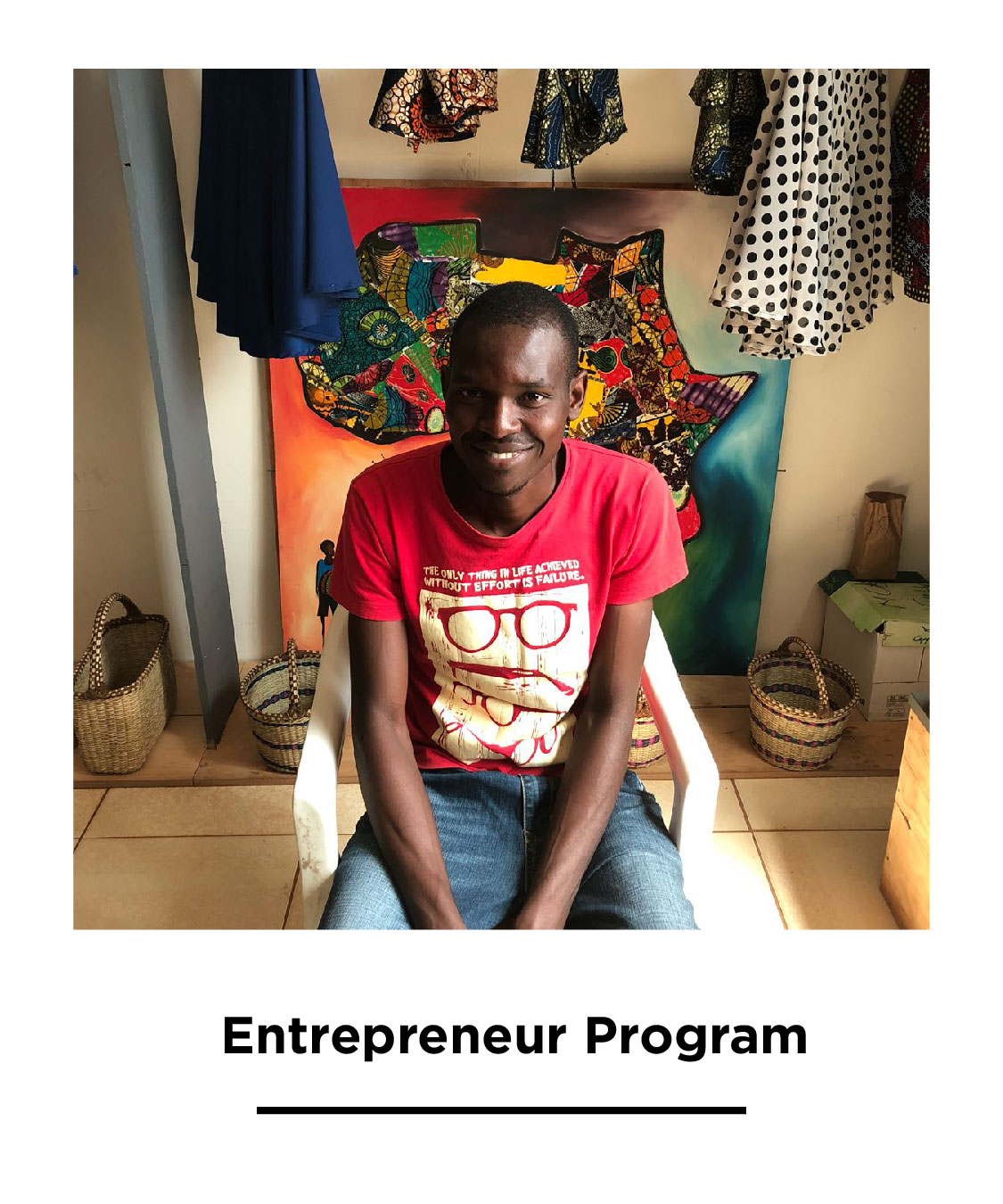 Education is proven to support long-term change, we are supporting our team member Chris in finishing his education this year to pursue his dream of business management.