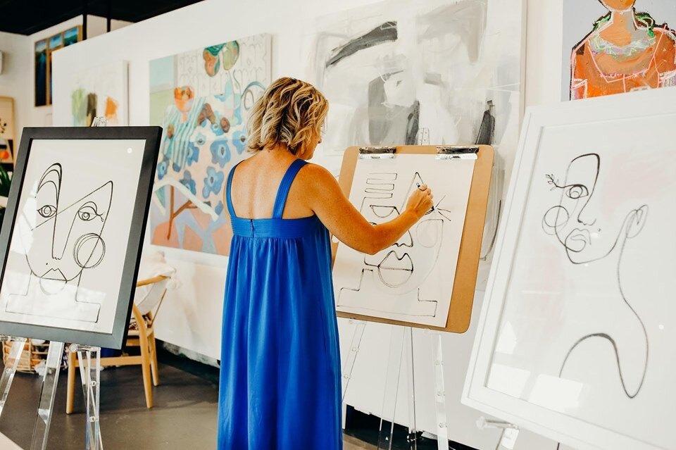 Artisan Impact Gallery & Benefit Event Featured Artist: Carrie Davis (Charleston, SC)