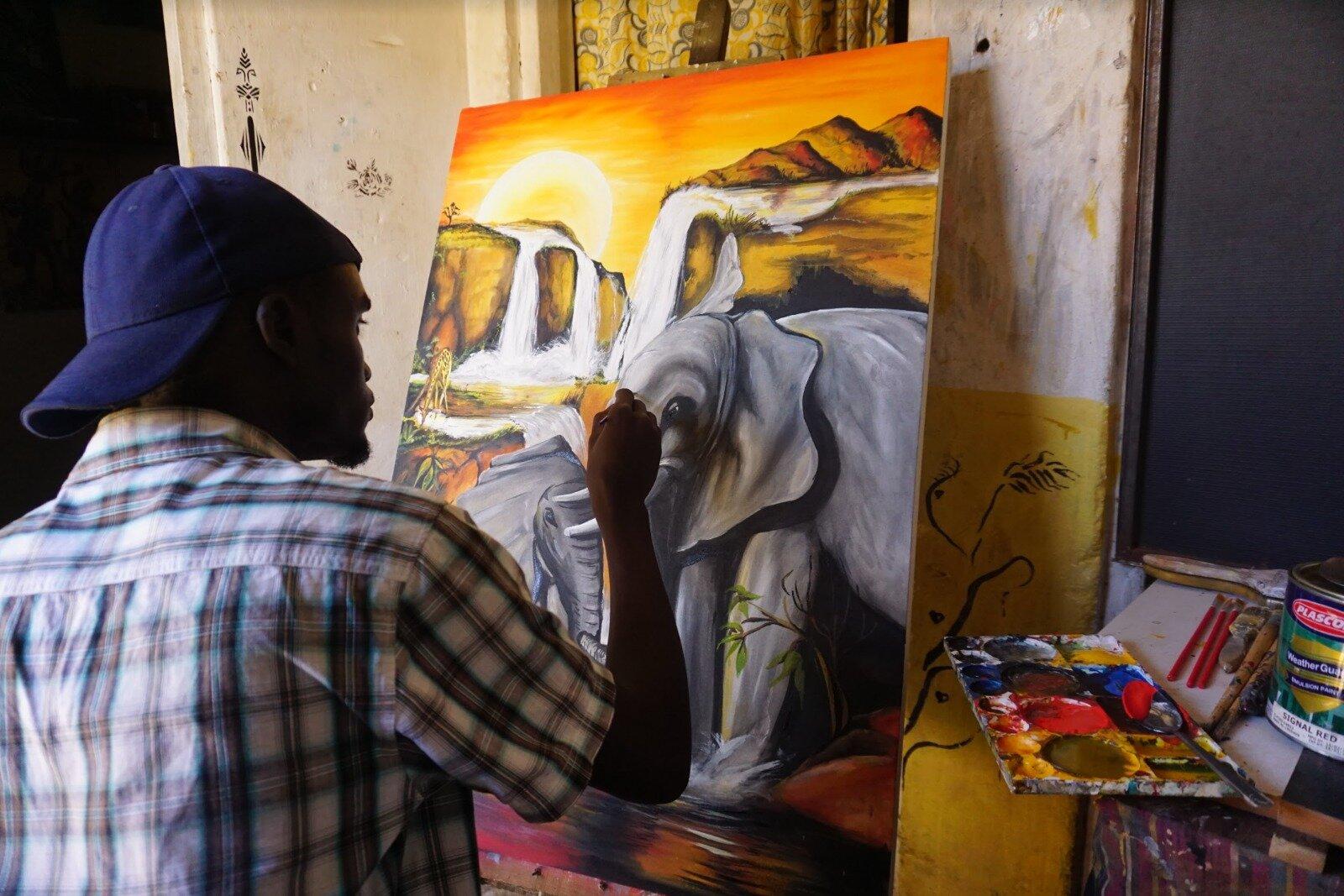 Artisan Impact Gallery & Benefit Event Featured Artist: Dorset Carroll (Gulu, Uganda)