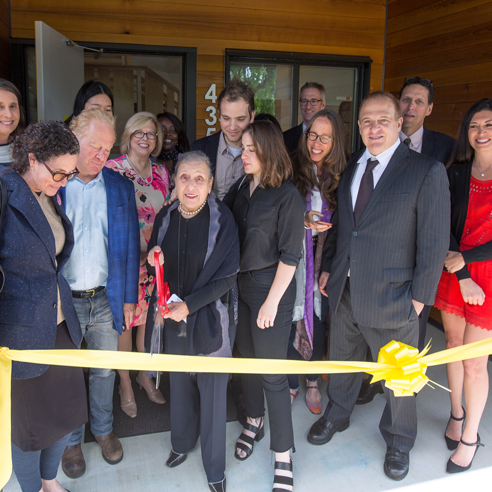New Meadows at the Dorothy Lemelson House in north Portland celebrated its grand opening in 2018.