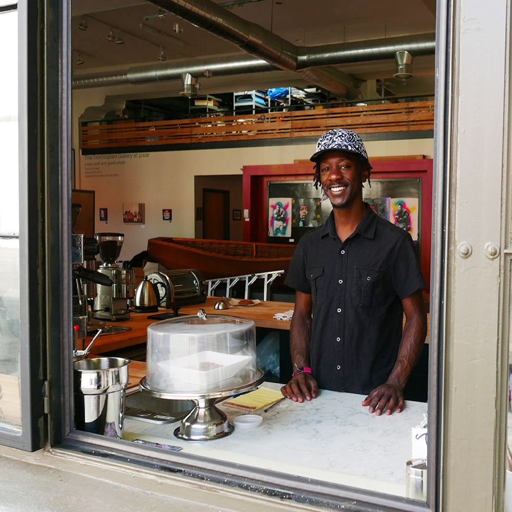 Support for p:ear helps this local nonprofit deliver programs like the p:ear barista school coffee window (338 N.W. Sixth Ave., Portland), which serves up great coffee alongside job-skills training for at-risk youth.