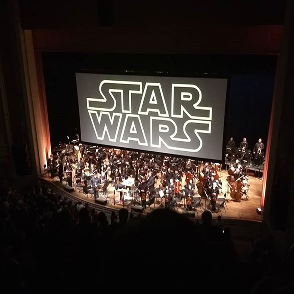 Support for the Oregon Symphony helps deliver programs such as live performances of popular movie scores.