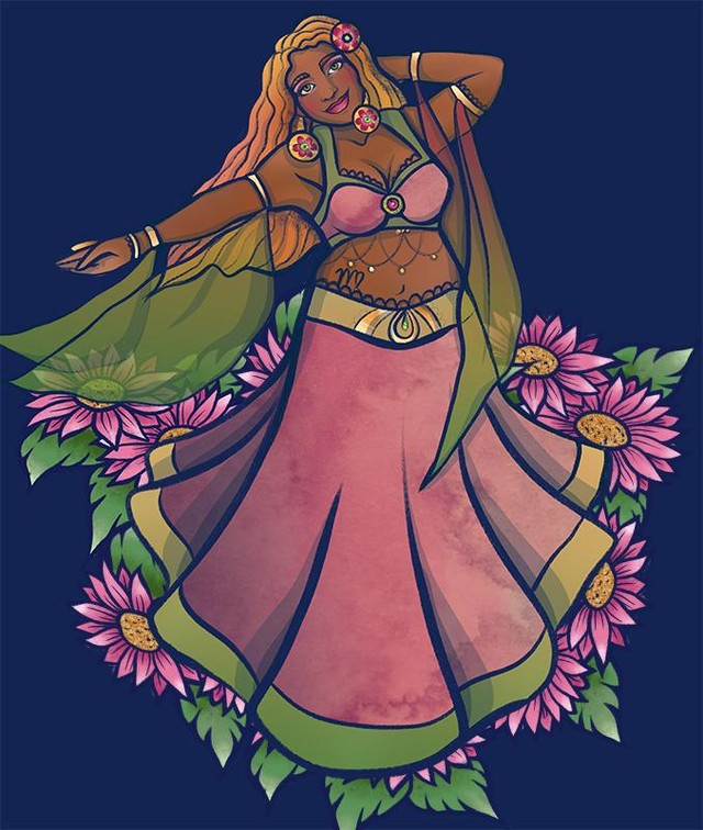 "Happy Birthday to all the Virgos out there - enjoy your season. This is my belly dancer art tribute to you. ""I suffer from the Virgo disease: nothing I did was pure enough. I was never sure whether I wanted disciples or partisans. I was never sure if I wanted Parliament or a hermitage."" ― Leonard Cohen  #virgo #virgos #virgoseason #bellydance #bellydancer #bellydancing #goddessart"