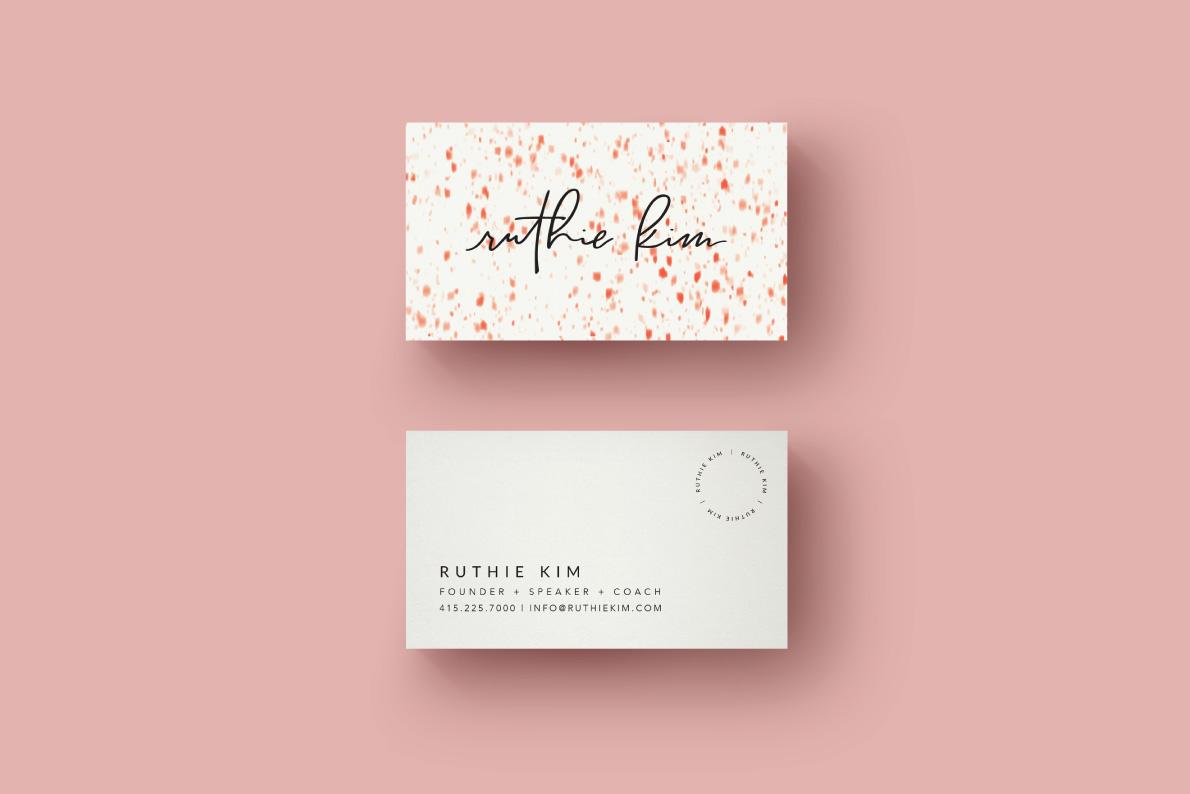 Ruthie Kim Brand Design by Studio Jazeena