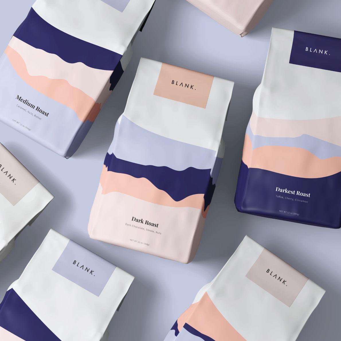 Blank Coffee Brand Design by Studio Jazeena