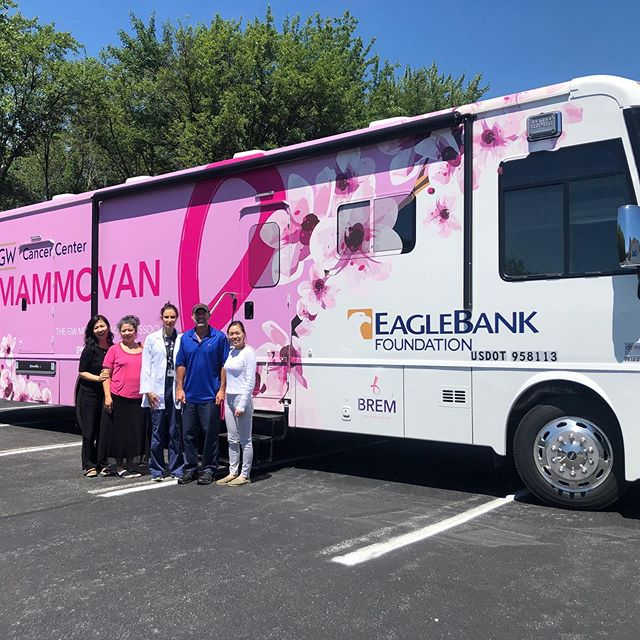 We had a great day at the Korean Community Service Center of Greater Washington, offering mammograms to members of the community and helping to spread the message of the importance of mammograms and early detection of breast cancer.