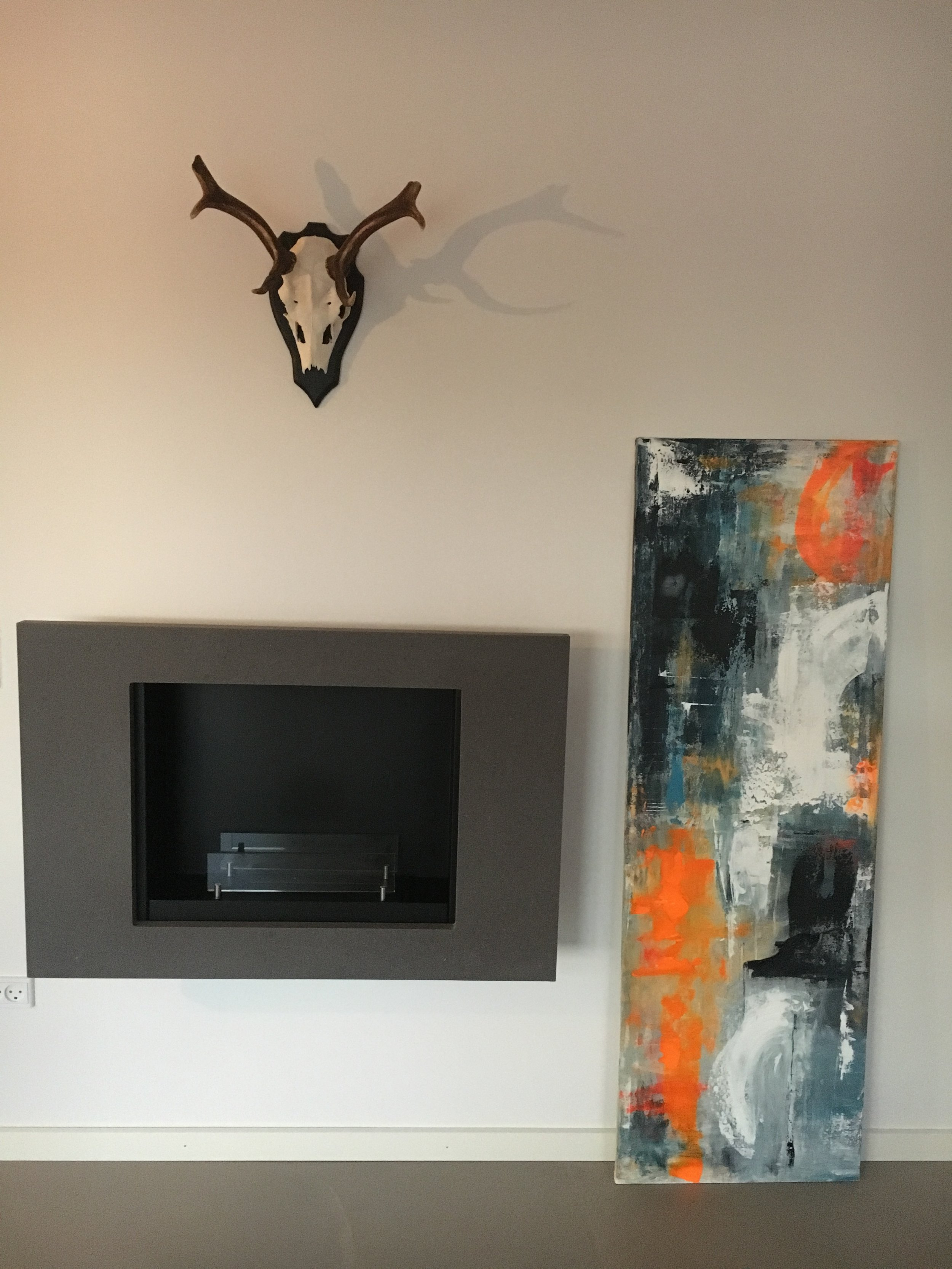 50x150cm - Akryl på lærred, 4.200kr.