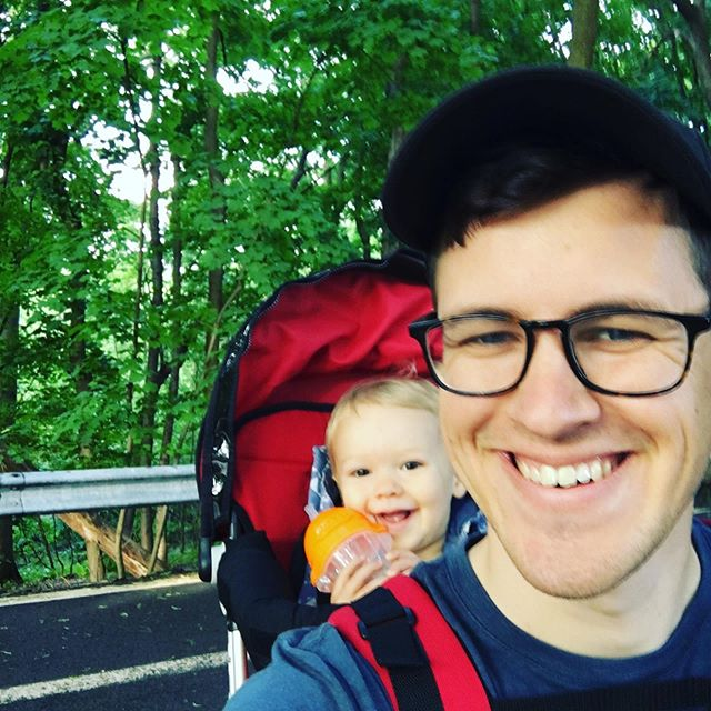 It's my second Father's Day. Me and Levi went on a hike a few weeks ago and took this pic. Fatherhood is one heck of a responsibility. I've been given a son to to raise into a man, just as my dad did with me. It is such a joy so far.