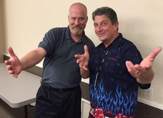 Robert Brown and Daryl at PSM (2017)
