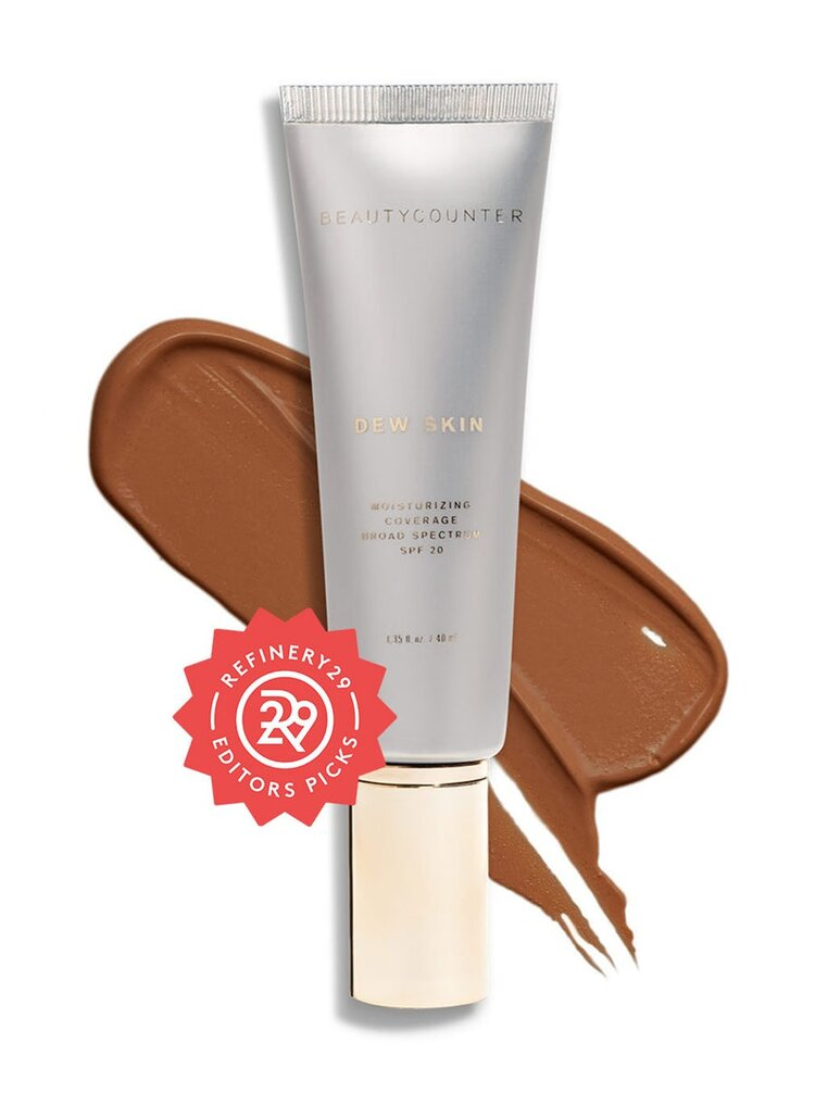 Dew Skin Tinted Moisturizer - This benefit-packed tinted moisturizer delivers lightweight hydration, a hint of sheer coverage, SPF 20 protection, and a luminous dewy glow.