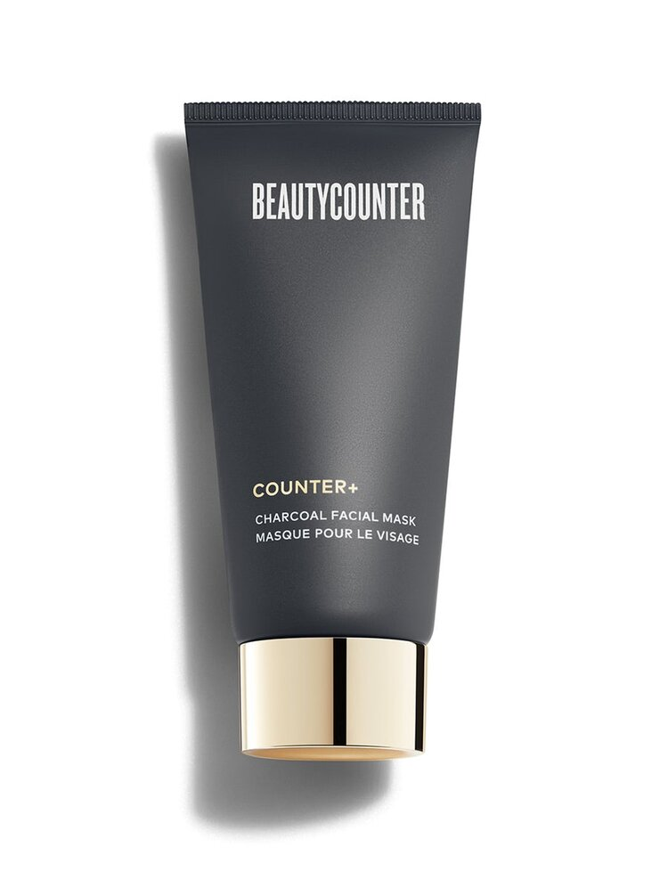 Counter+ Charcoal Facial Mask - Ten minutes to a purified complexion: this nutrient-rich kaolin clay mask with activated charcoal purifies and balances, absorbing excess oil and drawing out impurities.