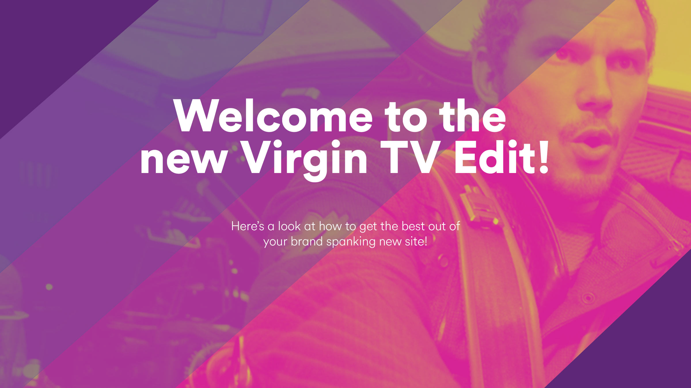 Content strategy & research for launch of new Virgin TV online magazine -
