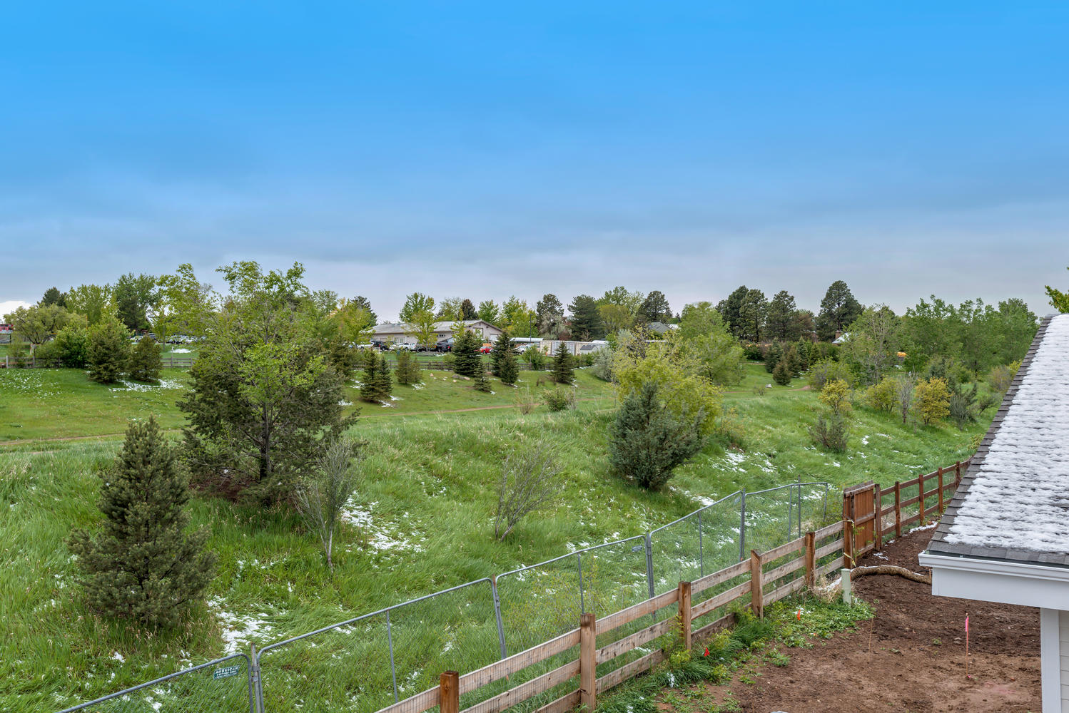 Area Behind Property
