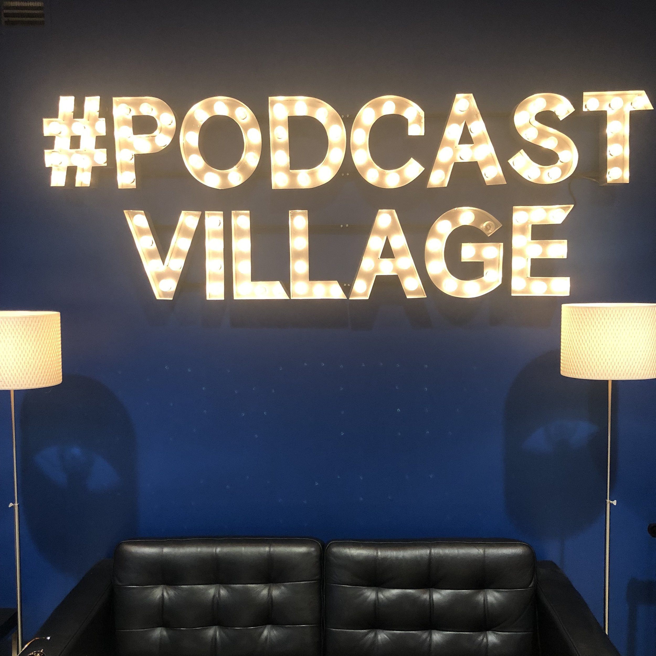 Podcast Village at 2300 Wisconsin Street in DC is a cozy, creative studio with a top-notch team to produce Podcasts & Shows.