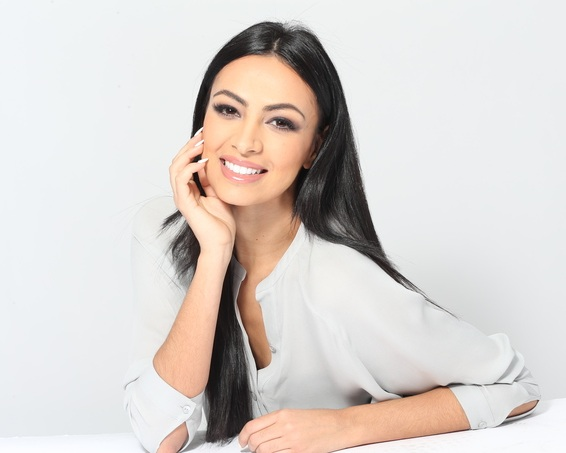 "Iman Oubou is a Moroccan-American self-made entrepreneur, published scientist and former beauty queen (Miss New York US 2015 and 2nd Runner Up at the 2015 Miss United States pageant) on a mission to change the women's media landscape.  Through her diverse experience with business, pageantry and STEM, Iman noticed gender disparities in the workforce and an omnipresent bias across printed and digital media representation of women which inspired her to launch SWAAY, a digital platform highlighting stories of female leaders challenging the status-quo, and championing the voices of female change-makers through substantive and inspiring, non-clickbait content.  Her podcast, Women Who SWAAY, which was syndicated by media conglomerate, Westwood One, was number 2 on iTunes in 2015, and was ranked in the top 5 best podcasts for women entrepreneurs by Inc. Magazine.  Iman was named by CIO Magazine the number one ""Female Entrepreneur to Watch"" in 2018 and recently became the first ever ""Visage Du Maroc"" of 2018 (which translates to Face of Morocco), a new initiative uplifting female voices in Morocco and across the Middle East. in 2018, Iman had the honors to be one of 2018's keynote speakers at Harvard Women In Business as well as be part of the first ever all-female judge panel at Miss Universe."