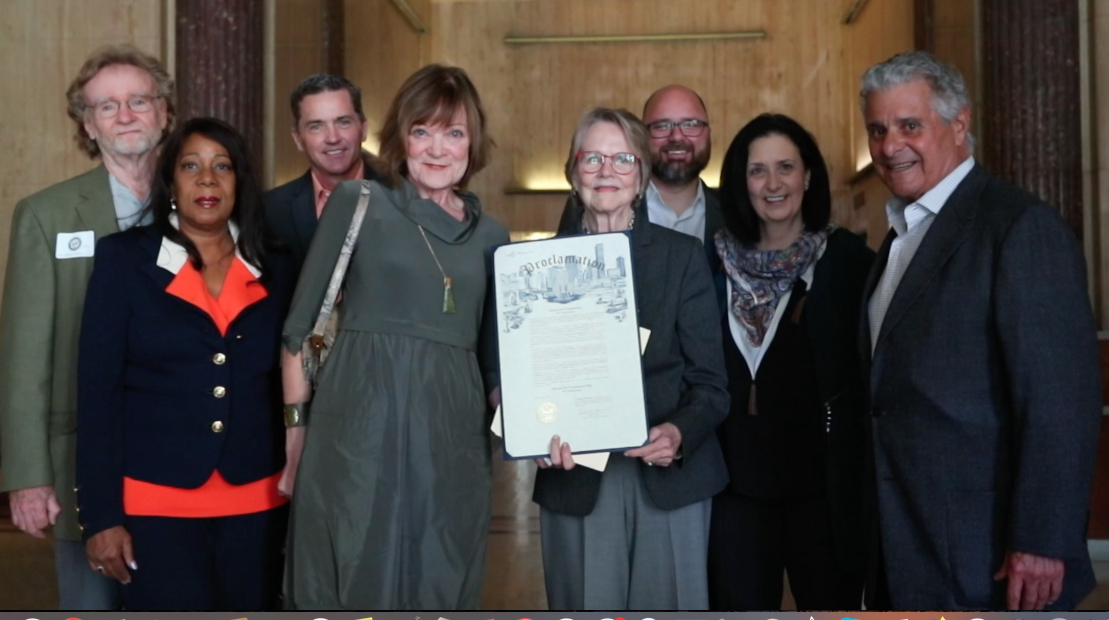 Major Sylvester Turner with Compassionate Houston and Partners - On October 22, 2019, the Houston Mayor presents a Proclamation, declaring November 12th, 2019, the Charter for Compassion 10th Anniversary Day in Houston.
