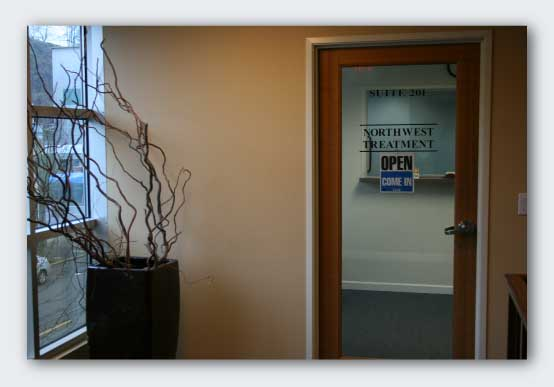 Oregon City Office Entryway