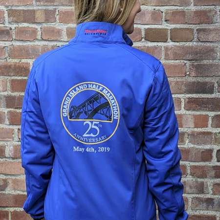 Jacket designed at Abaca Press for Greater Buffalo Track Club.