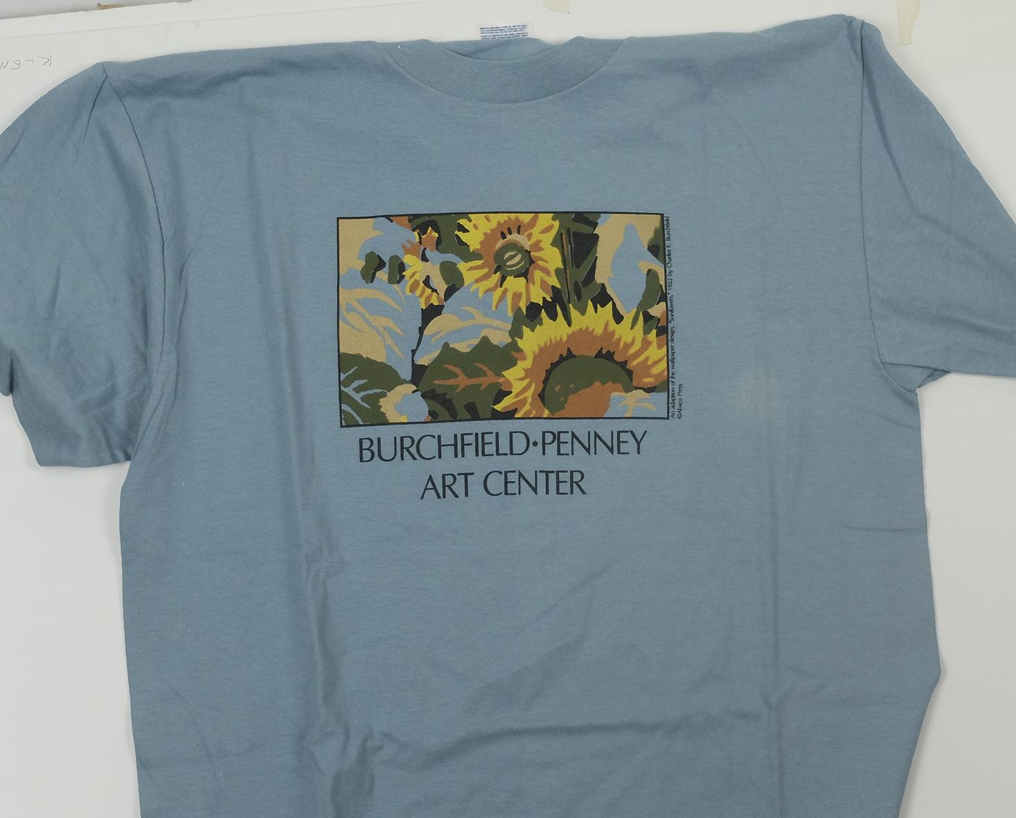 We adapted a  Charles Burchfield  wallpaper design for the Burchfield-Penney Art  Center's  shop.