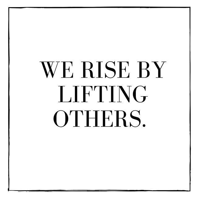 We rise by lifting other. ⠀⠀⠀⠀⠀⠀⠀⠀⠀ #Heal #HealTheDream #Love #Rise #Support #Motivation #Inspiration #Quotes #Quote #Express #Art #GiveBack #Give #Charity #SpreadLove #Compassion #Now #Live #Life #Smile #Gratitude #Grateful #Team #Teamwork #Together #Postive #PositiveVibes #Beauty #LoveJustLove