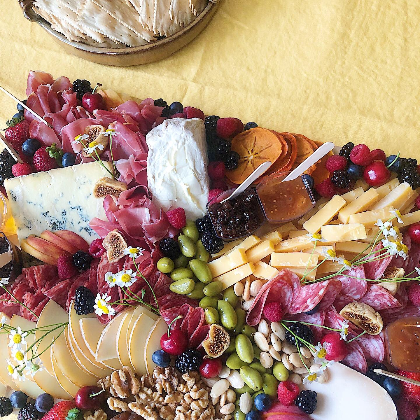 Fruit, Cheese & Meat - A variety of delicious cheeses, cured meats, crackers, fresh and dried fruits, nuts, olives, preserves, and other goodies.Medium (serves 12; original price $125 + $10 delivery):2/month: $243 (save 10%)4/month: $459 (save 15%)Large (serves 24; original price $195 + $10 delivery):2/month: $369 (save 10%)4/month: $697 (save 15%)