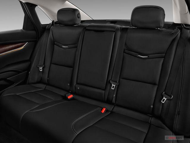 2018 Cadillac XTS Sedan rear seat interior